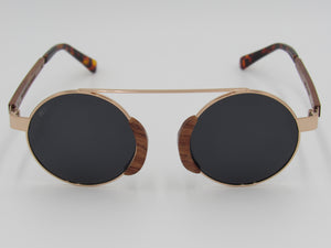 Wooden Sunglasses: The Chief (GREY) - Wooden Element