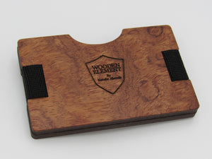 THE SRP Wooden Wallet Collection (Bubinga) - Wooden Element