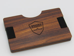 THE SRP Wooden Wallet Collection (Rosewood) - Wooden Element