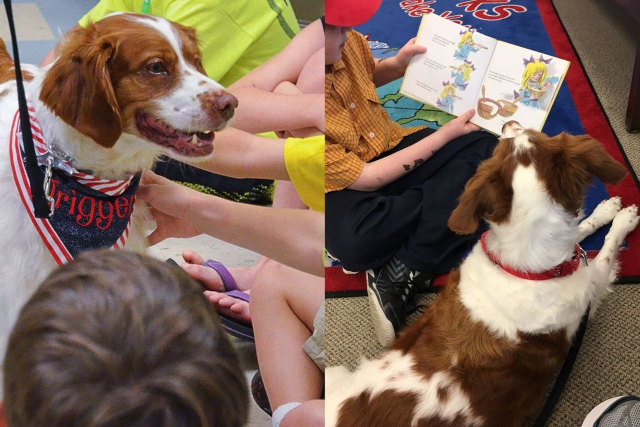 Trigger visiting and reading with kids