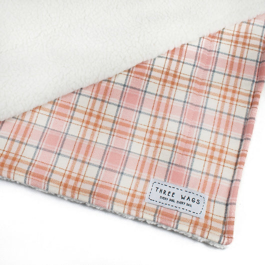 The Blush Pink Dog Blanket
