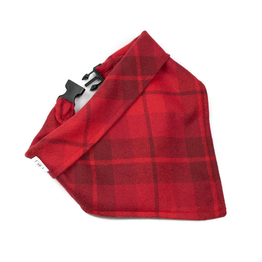 The Scarlet Plaid Dog Bandana