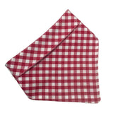 The Gingham Classic Dog Bandana - Three Wags