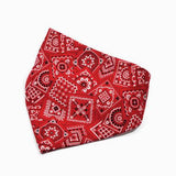 The Red Classic Dog Bandana - Three Wags