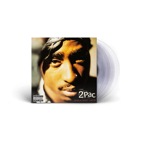 2PAC Greatest Hits - Clear 4LP + Digital Album - Bundle 2PAC OFFICIAL MERCHANDISE STORE - T-SHIRT - ALBUMS - LYRICS - CHANGES - MOVIE - MERCH - QUOTES - TUPAC - POEMS - POETRY