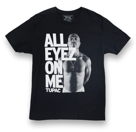 All Eyez On Me Lean Back Tee - Apparel 2PAC OFFICIAL MERCHANDISE STORE - T-SHIRT - ALBUMS - LYRICS - CHANGES - MOVIE - MERCH - QUOTES - TUPAC - POEMS - POETRY