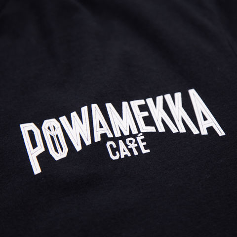 Limited Edition Powamekka Café T-Shirt - Apparel 2PAC OFFICIAL MERCHANDISE STORE - T-SHIRT - ALBUMS - LYRICS - CHANGES - MOVIE - MERCH - QUOTES - TUPAC - POEMS - POETRY