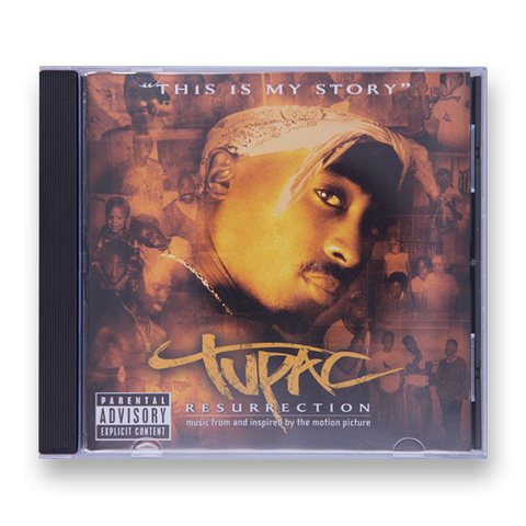 Resurrection CD - Music 2PAC OFFICIAL MERCHANDISE STORE - T-SHIRT - ALBUMS - LYRICS - CHANGES - MOVIE - MERCH - QUOTES - TUPAC - POEMS - POETRY
