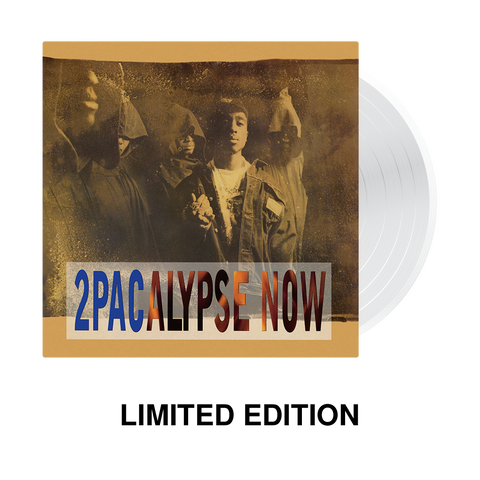 2Pacalypse Now LP Limited Edition Clear Vinyl - Music 2PAC OFFICIAL MERCHANDISE STORE - T-SHIRT - ALBUMS - LYRICS - CHANGES - MOVIE - MERCH - QUOTES - TUPAC - POEMS - POETRY
