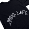 Thug Life Tattoo Black T-Shirt