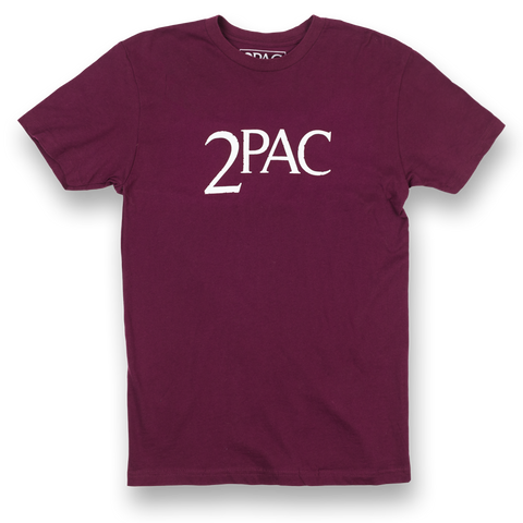 2PAC Logo T-shirt - Apparel 2PAC OFFICIAL MERCHANDISE STORE - T-SHIRT - ALBUMS - LYRICS - CHANGES - MOVIE - MERCH - QUOTES - TUPAC - POEMS - POETRY