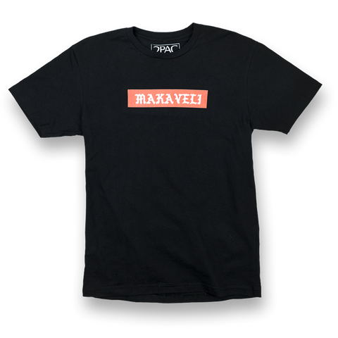 Makaveli Block T-Shirt - Apparel 2PAC OFFICIAL MERCHANDISE STORE - T-SHIRT - ALBUMS - LYRICS - CHANGES - MOVIE - MERCH - QUOTES - TUPAC - POEMS - POETRY