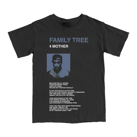 Family Tree Black T-Shirt