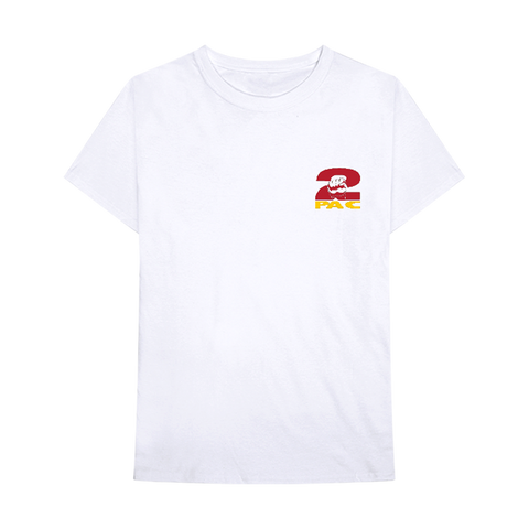 Spark the Brain T-shirt (White) - Apparel 2PAC OFFICIAL MERCHANDISE STORE - T-SHIRT - ALBUMS - LYRICS - CHANGES - MOVIE - MERCH - QUOTES - TUPAC - POEMS - POETRY