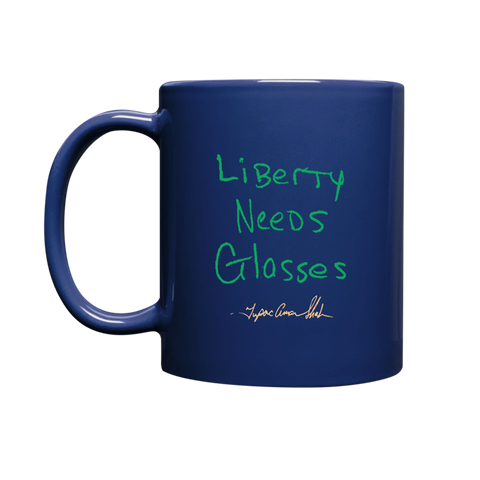 Liberty Needs Glasses Mug
