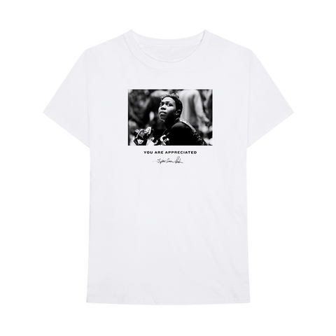 No Woman Alive White T-Shirt