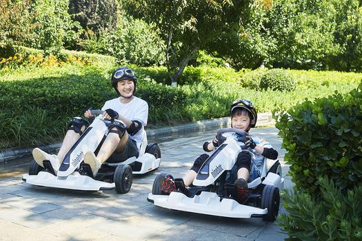 THE SEGWAY THAT TURNS INTO A GO-KART