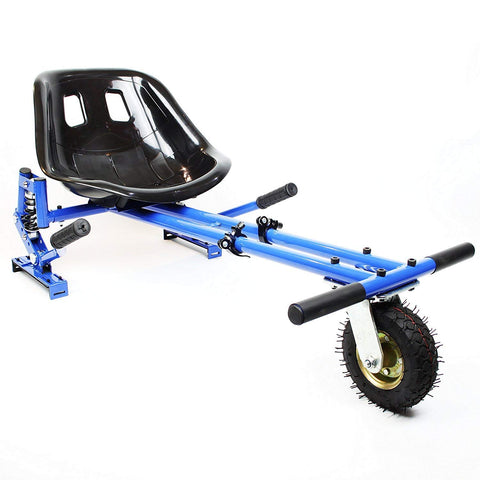 Drifter-X Hoverkart with suspension for Hoverboard - Blue - ihoverkart