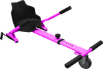 CLASSIC Hoverboard seat attachment Hoverkart for Swegway - pink - ihoverkart