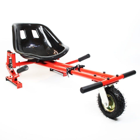 Drifter-X Hoverkart with suspension for Hoverboard - Red - ihoverkart