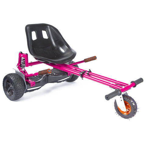 Drifter-X Hoverkart with suspension for Hoverboard - Pink - ihoverkart