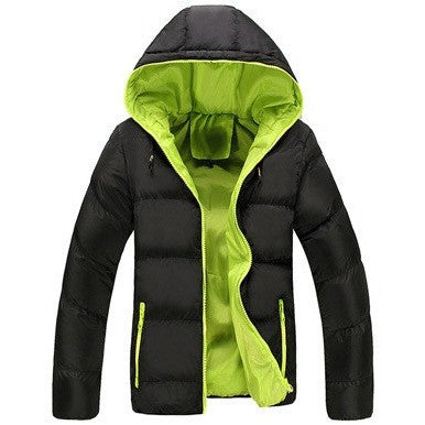 Winter Casual New Hooded Thick Padded Coats and Jackets Zipper - Kind Unity