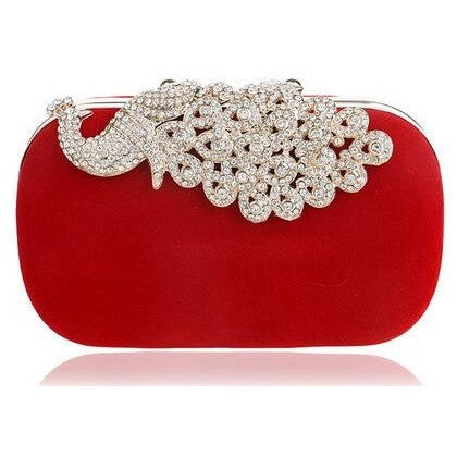 Crown Rhinestones Evening Bags Purse Clutch/ Accessories - Kind Unity