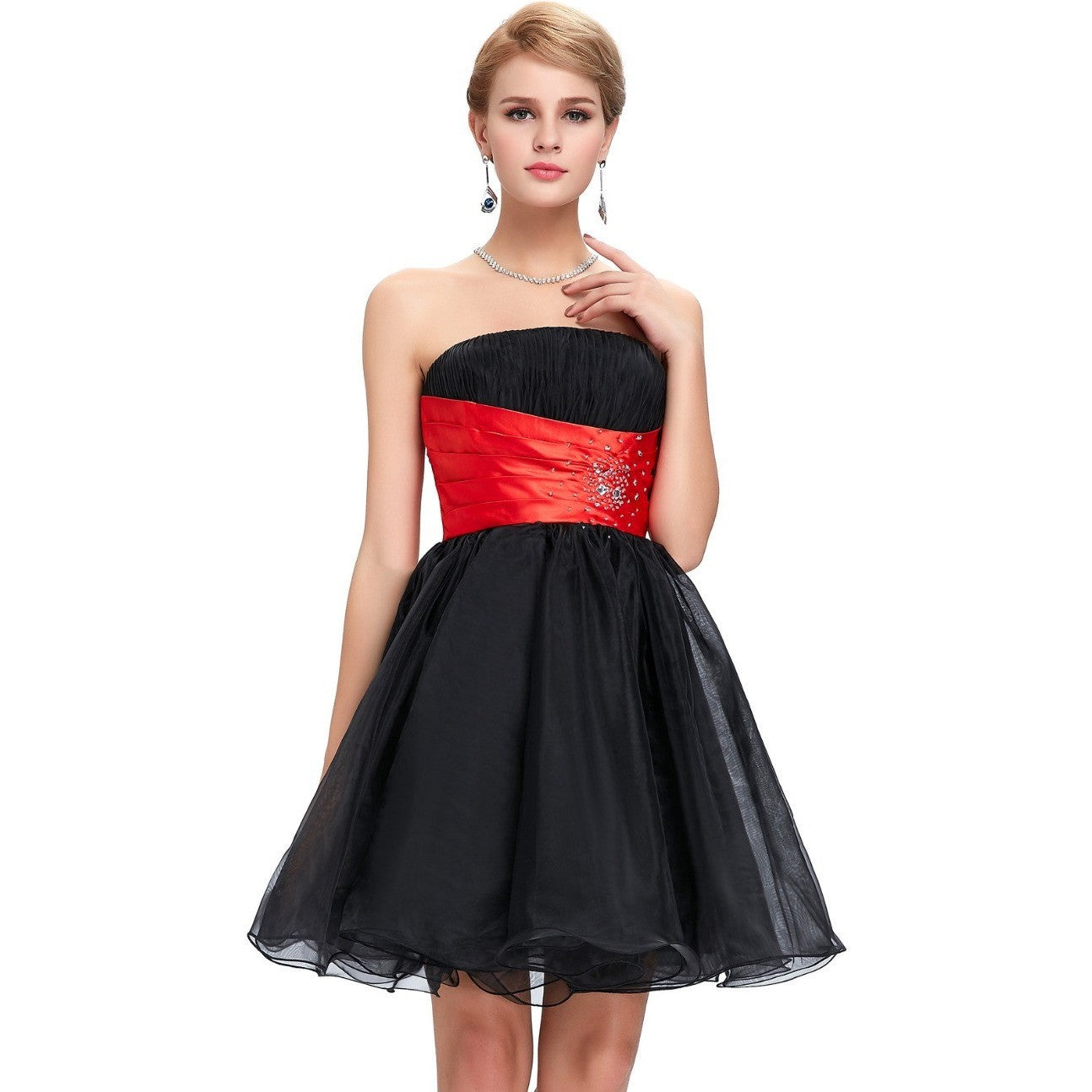 Dress Women Gown  with Lace Up Back - Kind Unity