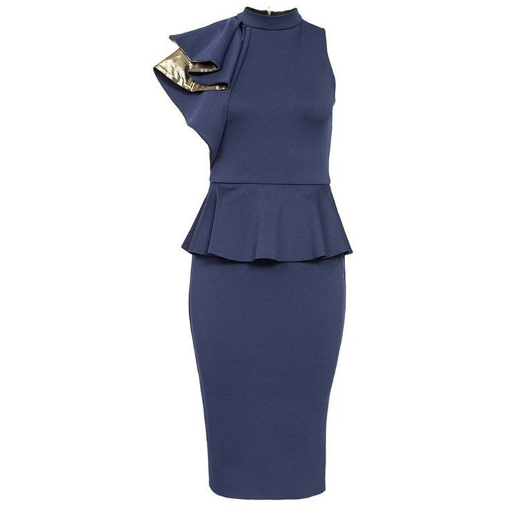 Peplum Office Dress - Kind Unity