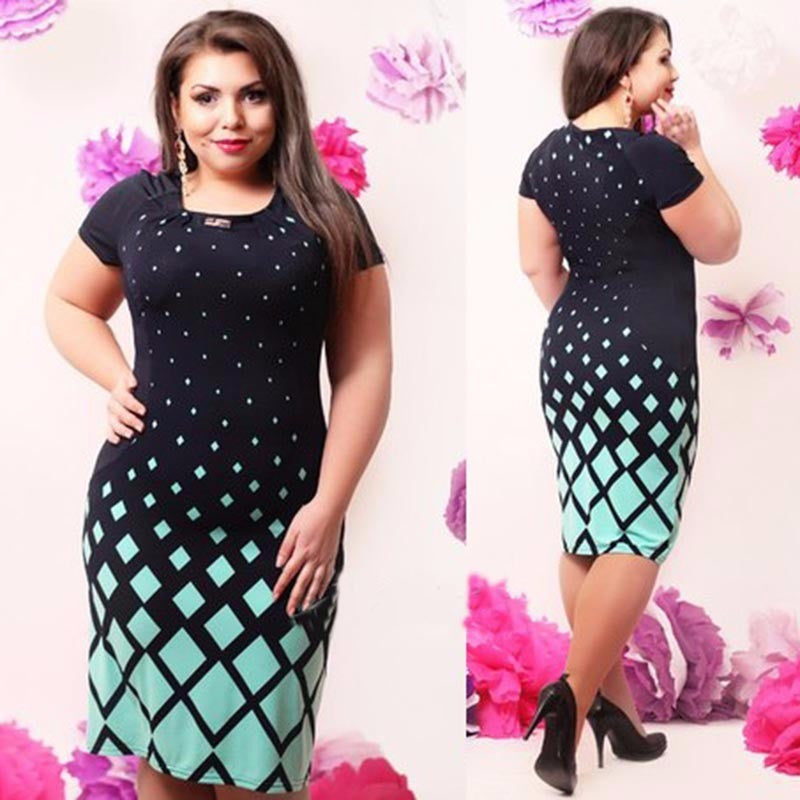 Fashionable Office Women Dress Plus Size Dresses - Kind Unity