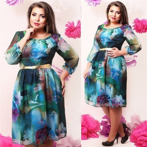 Women Casual Plus Size Dresses - Kind Unity