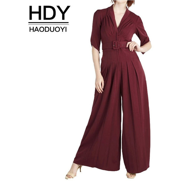High Waist Slim Pocket New Woman Jumpsuits - Kind Unity
