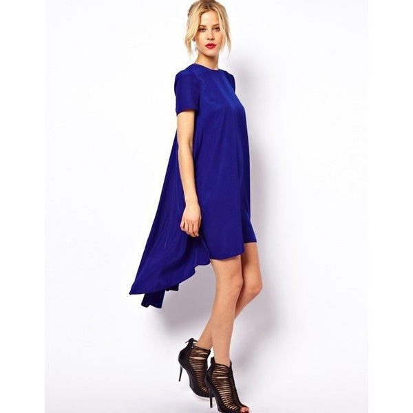 Casual Dress Asymmetrical Loose Billowing Dress - Kind Unity