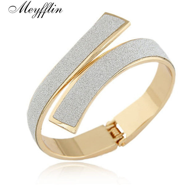 Fashion Gold/Silver Cuff Bracelets & Bangles for Women/ Accessories - Kind Unity