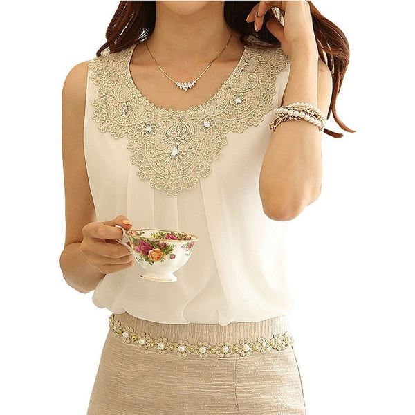 Chiffon Blouse Ladies Tops - Kind Unity