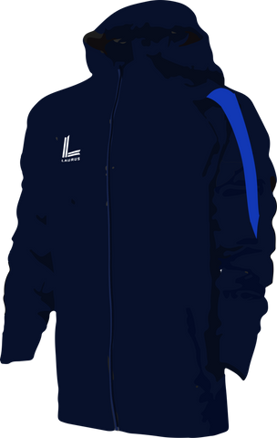 Clough Managers Jacket [Senior] |Navy|Royal|
