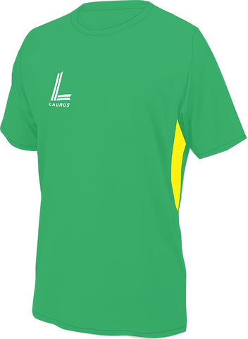 Kempes Shirt [Junior] |Emerald|Yellow|
