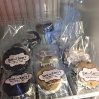 Jenn and Larry's Ice Cream Cookie Sandwiches