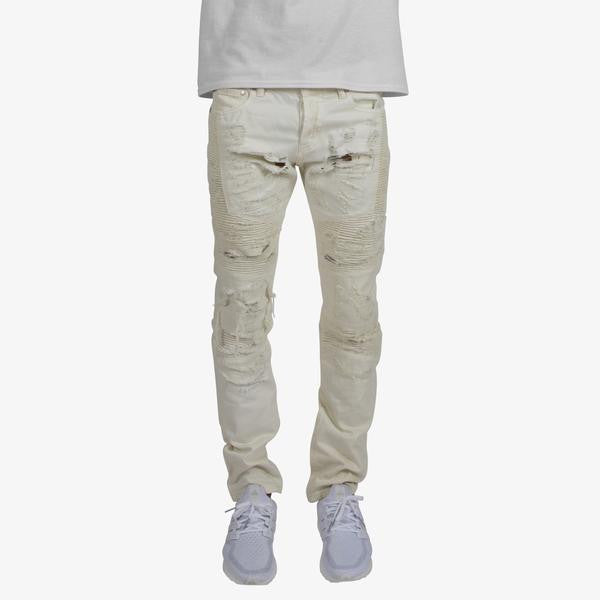 DOPE ENDO DENIM OFF WHITE /YELLOW - cosign1975