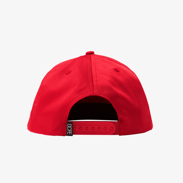 DOPE MONO SNAPBACK RED - cosign1975