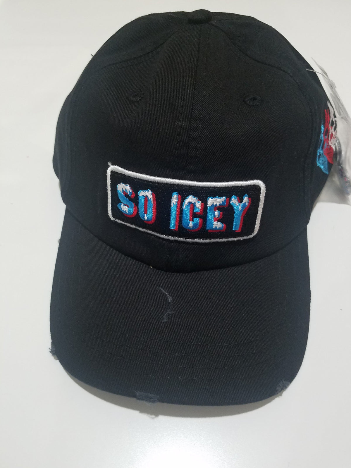 Icey Dad Hat Black (DHICEYBLK) - cosign1975