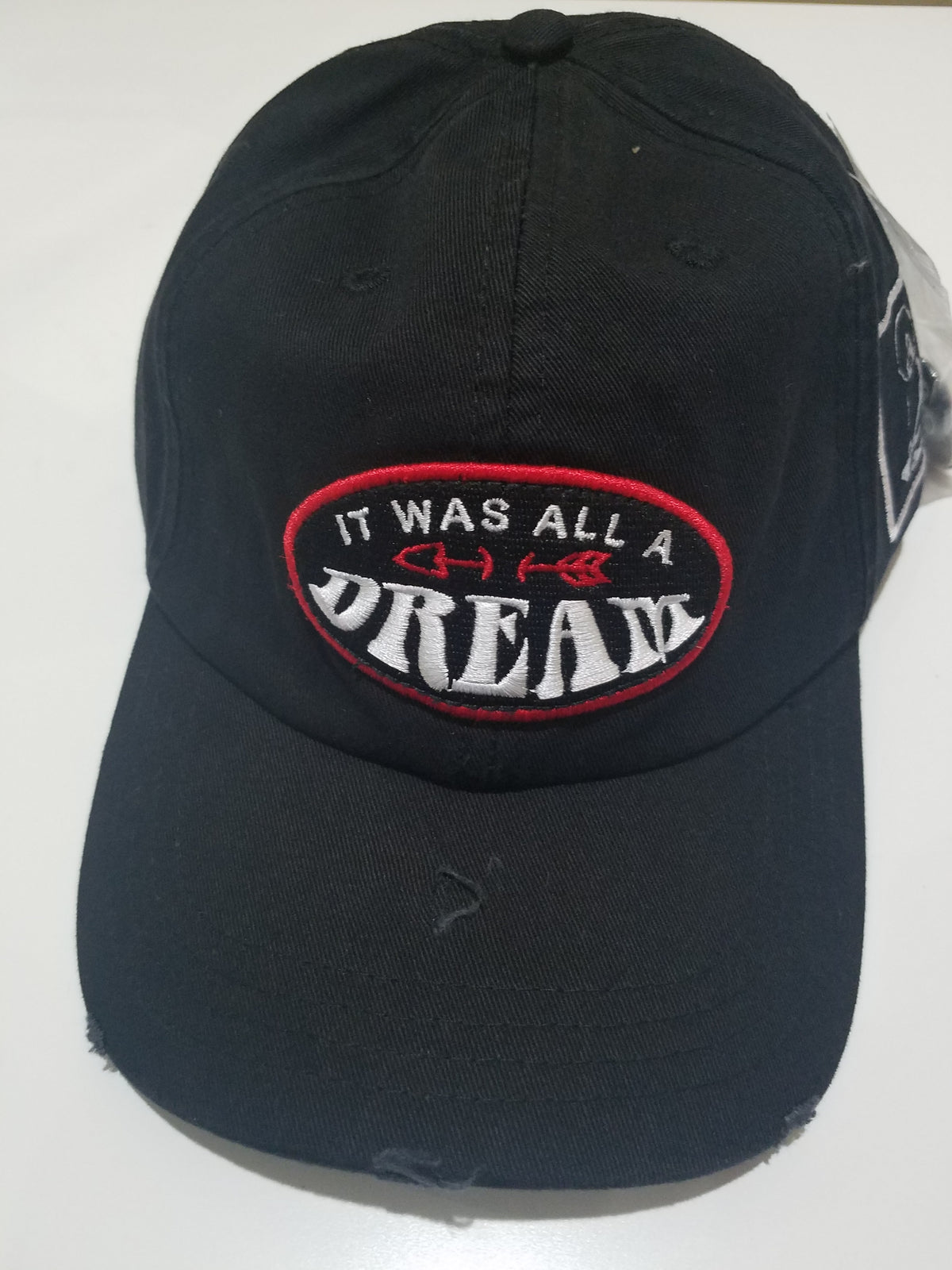 Dream Dad Hat Black (DHDREAMBLK) - cosign1975