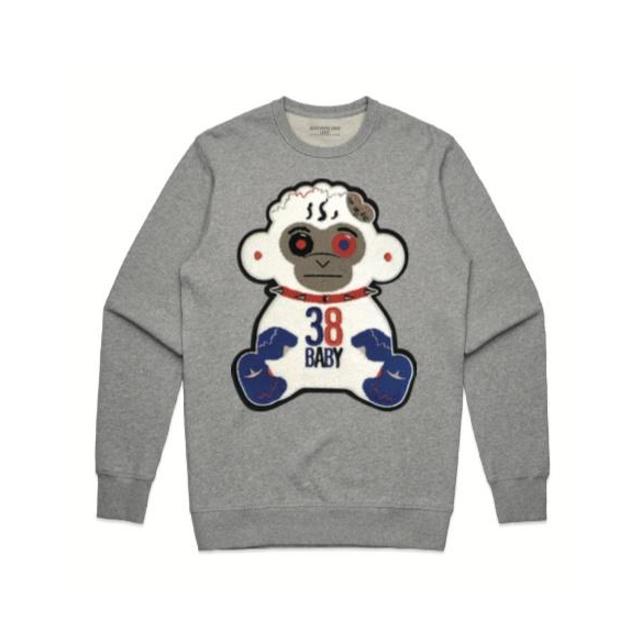 NEVER BROKE AGAIN 38 BABY CREWNECK - cosign1975