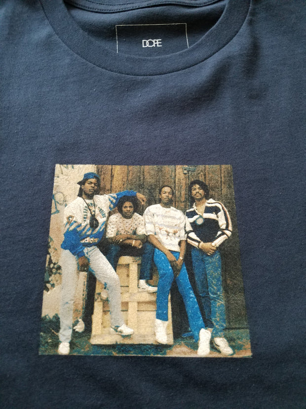 COMPTON TEE - Navy Blue - cosign1975