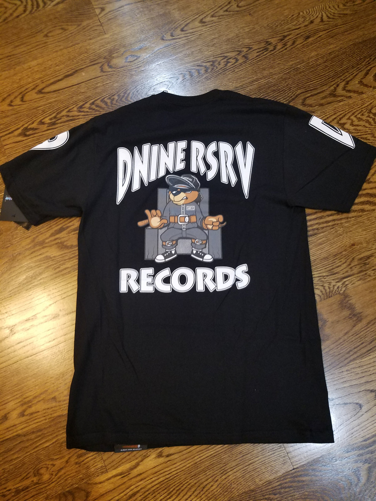 DEATH ROW TEE - BLACK - cosign1975