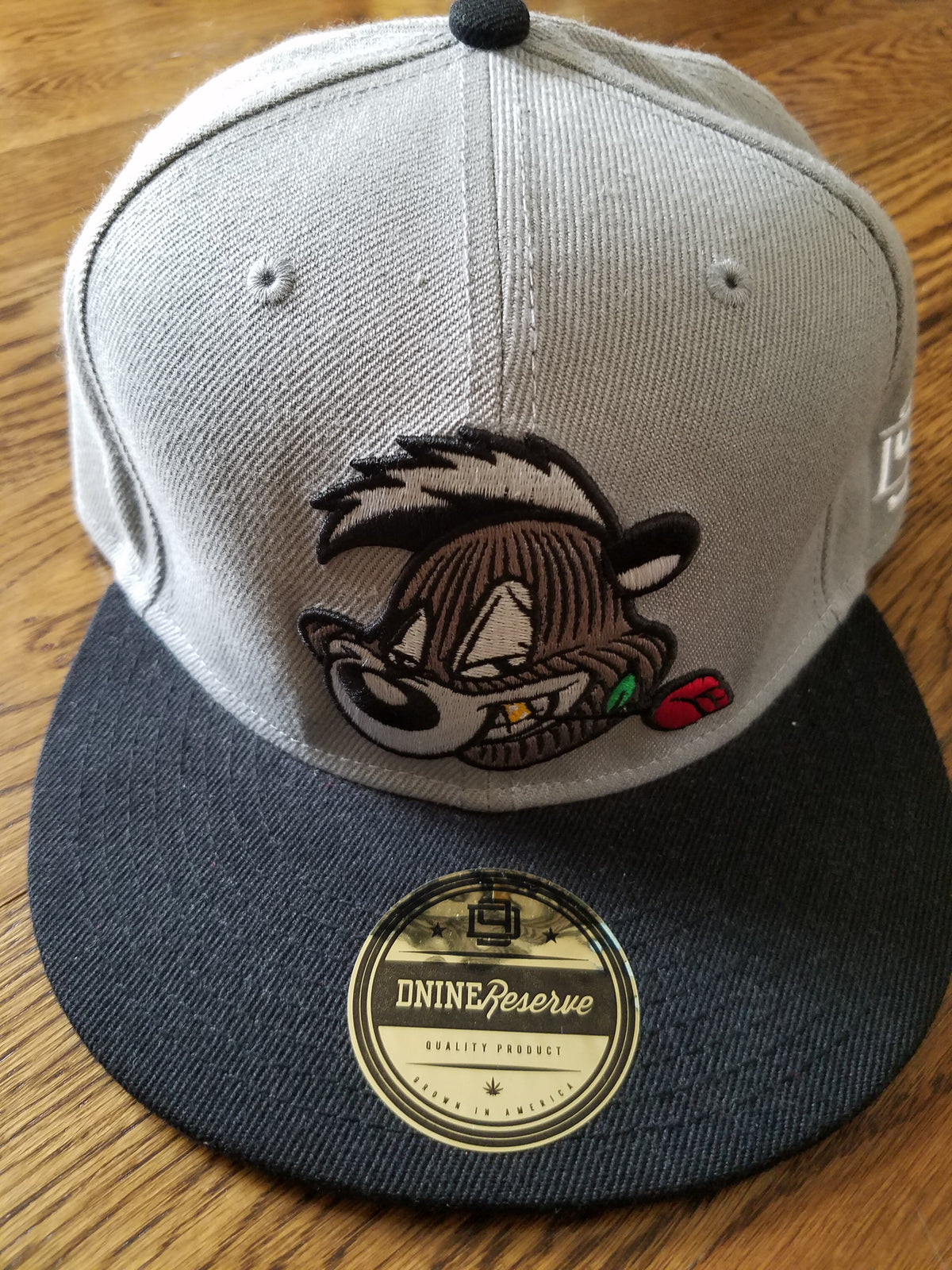 SKUNKY LE GOON SNAPBACK GREY - cosign1975