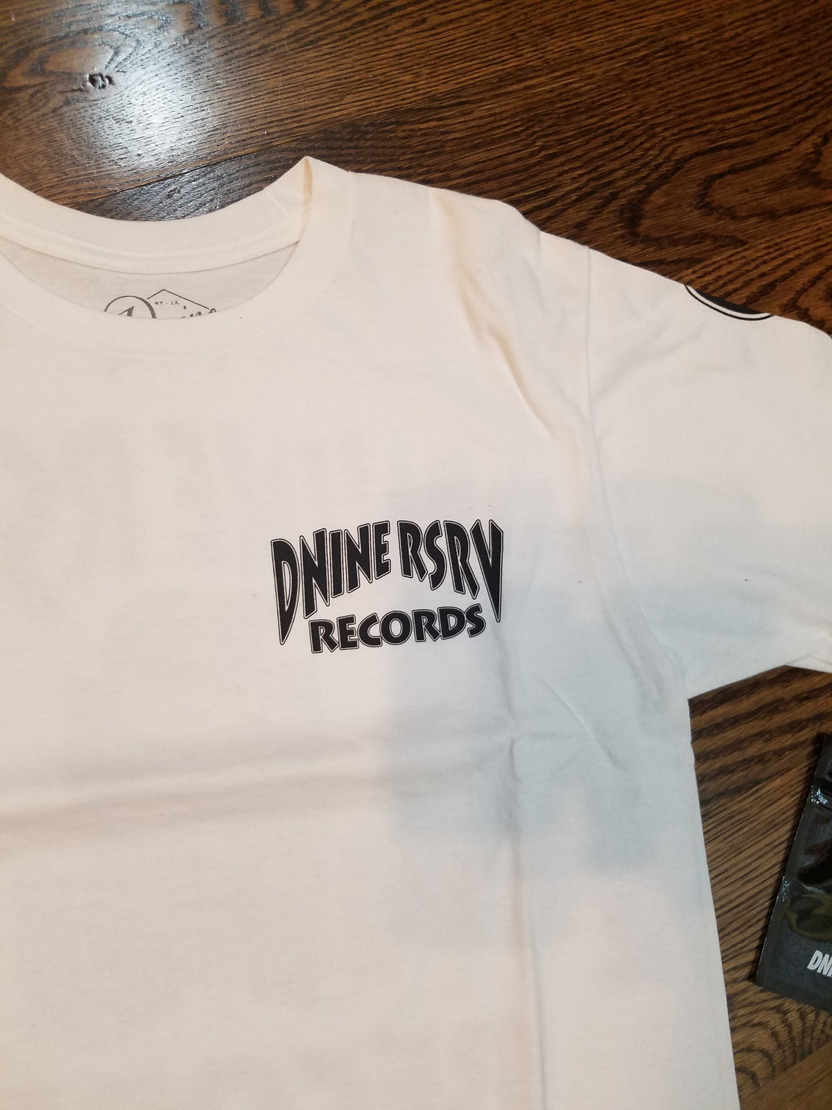 DEATH ROW TEE - WHITE - cosign1975