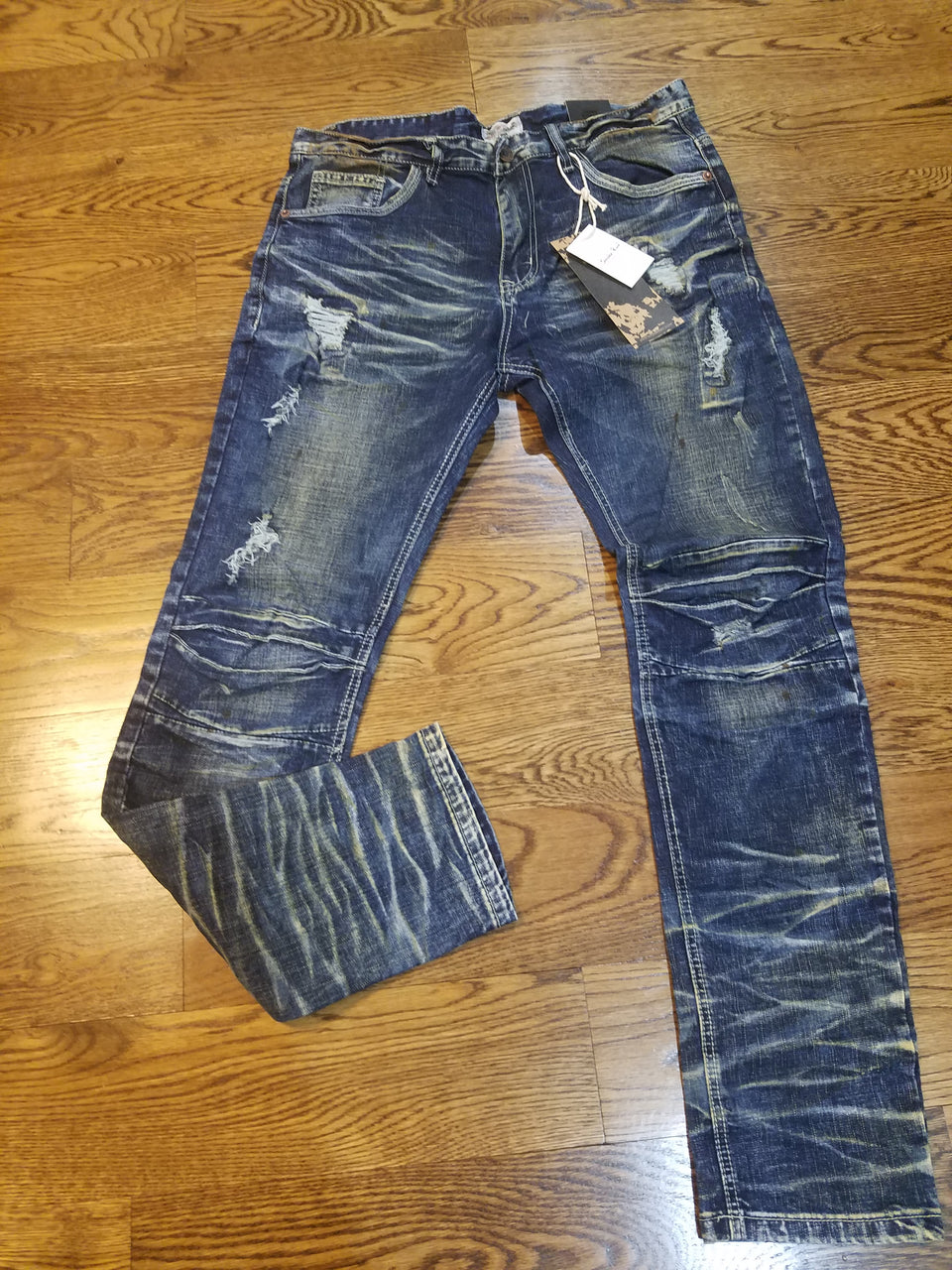BLUE PAINT SLIM DENIM JP7120 - cosign1975