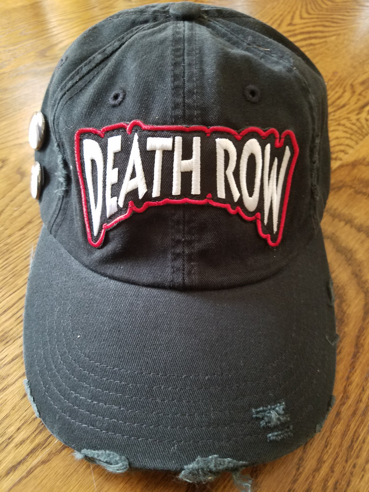 DEATH ROW DAD HAT BLACK - cosign1975