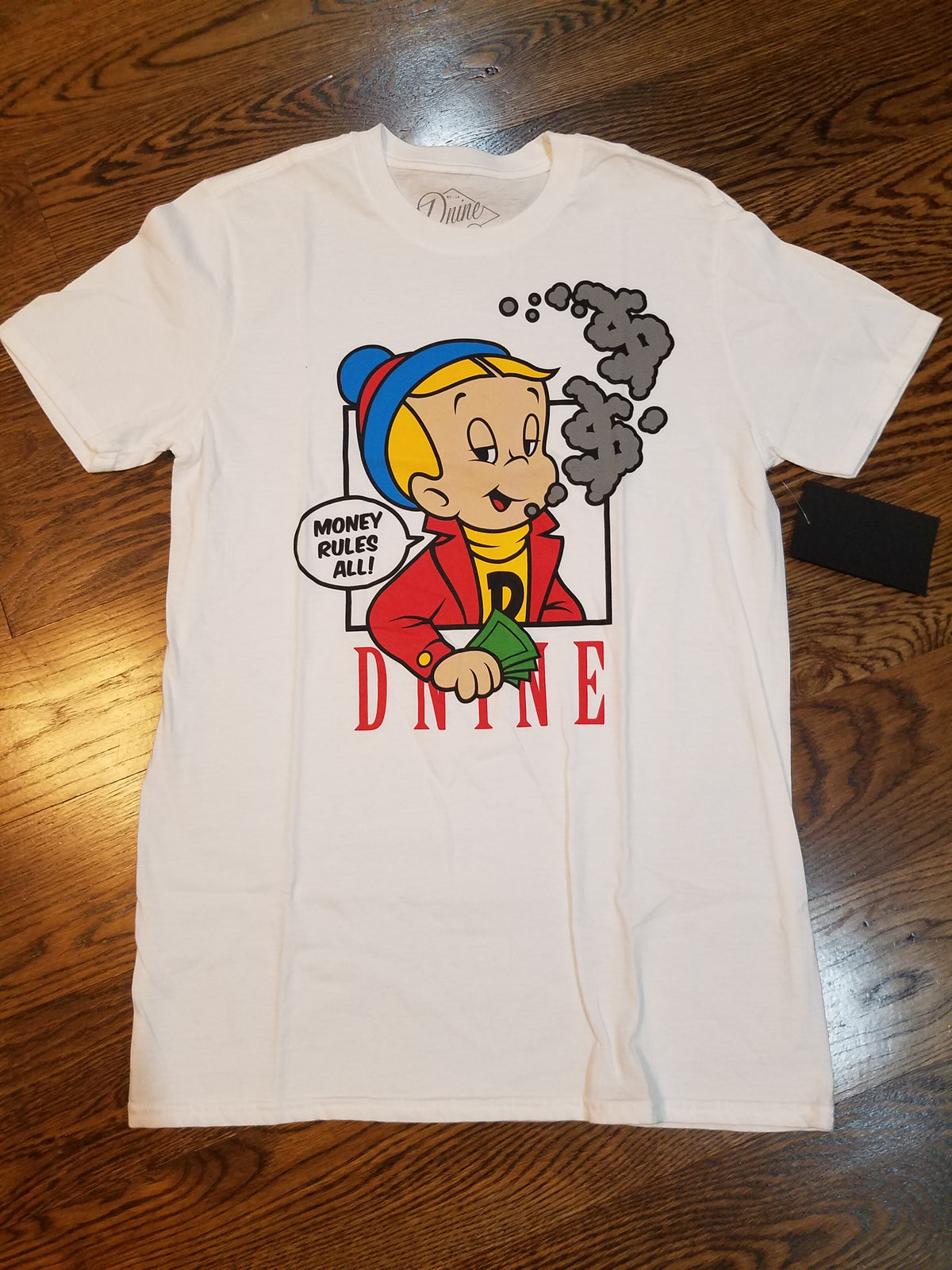 RICHIE RICH TEE -WHITE - cosign1975